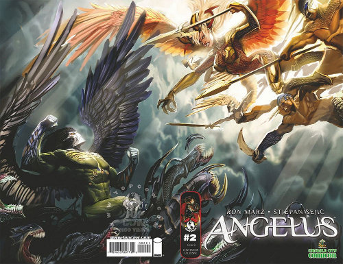 Angelus Variant for Emerald City Comic Con 2010