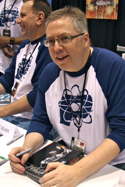 Writer Ron Marz